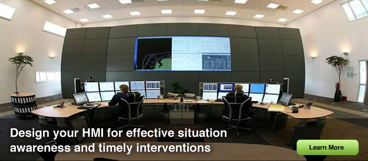 HMI design for effective situation awareness and timely interventions.